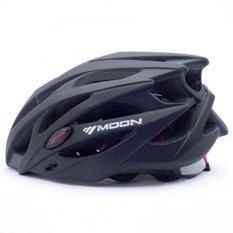Diskon Moon *d*lt Sport Ware Highway Helm Sepeda Bersepeda Dan Naik Gunung Helm L Warna Hitam Intl Oem Di Tiongkok