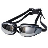 Harga Moonar Tahan Air Anti Kabut Universal Fashion Plating Renang Goggles Silikon Kacamata Band Baru
