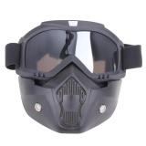 Jual Beli Motor Kacamata Dilepas Harley Protect Padding Penuh Mask Gray Intl