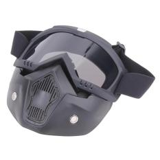 Toko Motor Kacamata Dilepas Harley Melindungi Padding Penuh Masker Perak Murah Hong Kong Sar Tiongkok