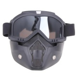 Beli Motor Kacamata Dilepas Harley Protect Padding Penuh Mask Gray Intl Online