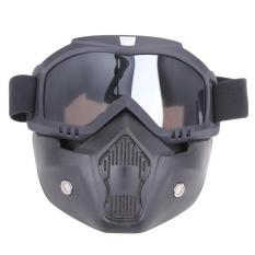 Harga Motor Kacamata Dilepas Harley Protect Padding Penuh Mask Gray Intl Yang Bagus