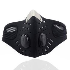 Beli Sepeda Motor Olahraga Ski Dustproof Anti Polusi Wajah Masker Mulut Muffle Dengan Filter Cicil