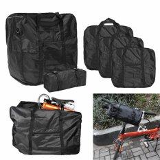 Gunung Sepeda Sepeda Tas Lipat Tas Carry Cover untuk Dahon Pemegang 68.5*65.5*33.5 Cm-Intl