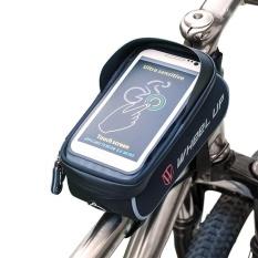 MTB Sepeda Bersepeda Bingkai Depan Terbaik Tas With TPU Layar Sentuh 6 ''Telepon Tas-Internasional