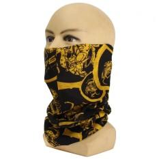 Multi Warna Bandana Syal Tabung Masker Kepala Wajah Leher Gaiter Jaring Rambut Hiasan Kepala Kupluk No