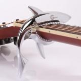 Spesifikasi Musician Student Peculiar Shark Shape Guitar Capo Musical Instruments Gift Intl Baru
