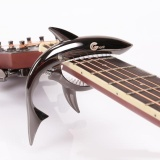 Promo Musician Student Peculiar Shark Shape Guitar Capo Musical Instruments Gift Intl Tiongkok