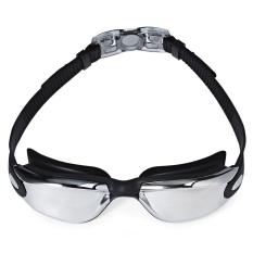 Harga Mystyle Coating Mirrored Sportswear Anti Kabut Anti Sinar Uv Tahan Air Unisex Swimming Goggles Hitam Di Indonesia