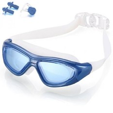 Naga Sports Diver Swimming Goggles - Anti Fog Anti Shatter Leakproof Waterproof with UV Protection for Men Women Youths Adults - - intl
