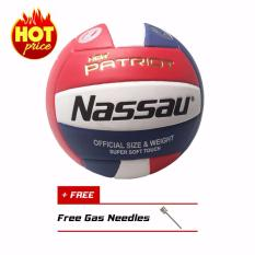 Super Soft Touch Nassau Bola Voli New Patriot Official Size Vnt5 By Galeri Online.