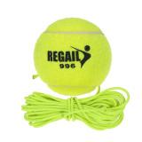 Karet Alam Sintetis Serat Wol Bola Tennis With Tali Pelatihan Anjing Internasional Hong Kong Sar Tiongkok Diskon 50