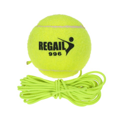 Beli Karet Alam Sintetis Serat Wol Bola Tennis With Tali Pelatihan Anjing Internasional Oem