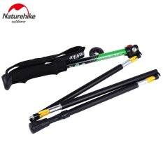 Jual Naturehike 5 Joint Ultralight Folding Alpenstocks Hijau Di Tiongkok