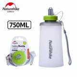 Jual Beli Naturehike 750 Ml Silicone Suction Nozzle Folding Water Cup Outdoor Portabel Tas Bersepeda Mountaineering Running Drinking Cup Intl