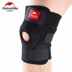 Jual Beli Online Naturehike Adjustable Elastic Knee Support Power Brace Kneepad Patella Knee Pads Hole Sports Kneepad Safety Guard Strap For Running S5811 Hitam