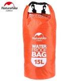 Penawaran Istimewa Naturehike Multifungsi Waterproof Dry Bag 15L Orange Intl Terbaru