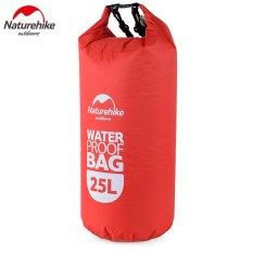 Promo Naturehike Multifungsi Waterproof Dry Bag 25L Merah Intl Akhir Tahun