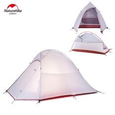Toko Naturehike Nh15T002 T 20D 380 T Silicone Double Layer Waterp Tahan Camping Hiking Alat Tenda Untuk 2 Orang Intl Dekat Sini