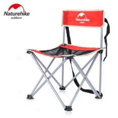 Harga Naturehike Outdoor Backrest Portable Folding Stool Fishing Sketsa Barbecue Camping Beach Chair Intl Original