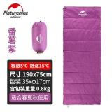 Review Toko Naturehike Waterproof Outdoor 210 T Grid Kain Mat Sleeping Bag Tipe Amplop 8 Kg 190 Cm X 75 Cm Biru Hijau Ungu Intl
