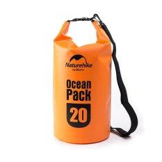 Harga Naturehike Tahan Air Pvc 20L Ringan Tahan Lama Dry Bag Backpack Tangan Bag Untuk Kegiatan Outdoor Orange Naturehike Tiongkok
