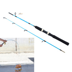 Tongkat Pancing Teleskopik Portabel Bahan Plastik Fiber Kuat Panjang 1.2 Meter