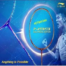 NEW 2017!! Raket Badminton Lining N99 ( N 99 ) Chen Long GOLD MEDAL