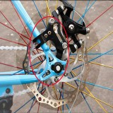 Spesifikasi New Adjustable Bicycle Bike Disc Brake Bracket Frame Adaptor Mounting Holder 22Mm Oem