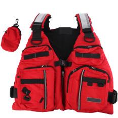 Review Toko Baru Orang Dewasa Apung Bantuan Berlayar Kayak Berkano Penangkapan Ikan Jaket Rompi Merah Online