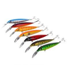 Jual Baru Kedatangan Artivicial Fishing Lure Hard Bits Plastik Vib Pensil Minnow Crankbaits 7 Pcs Lot 14 Cm 16G Di Bawah Harga