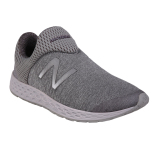 Diskon New Balance Mens Sports Style Zante Sepatu Sneakers Olahraga Pria Silver Branded