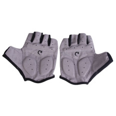 New Cycling Bicycle Motorcycle Sport Gel Half Finger Gloves Gray Size M Oem Diskon 30