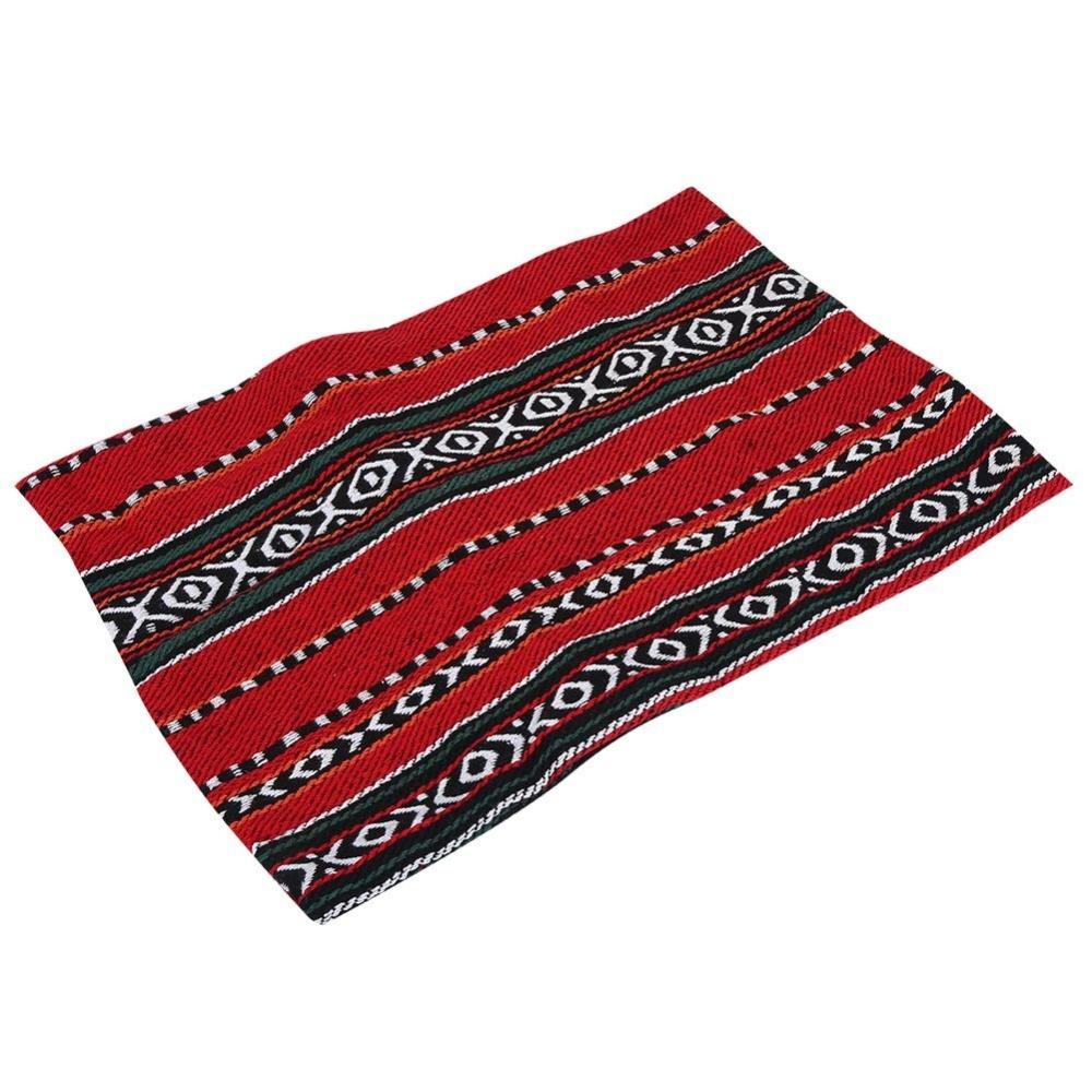 Harga preferensial Baru Pillowcase Portable Bantal Cover untuk Outdoor Camping Traveling (strip Hitam & Merah