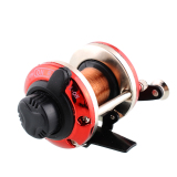 Harga Baru Right Handed Round Big Game Baitcasting Fishing Reel Trolling Gulungan Oem