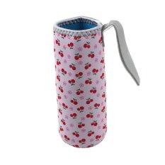 Baru Hangat Panas Isolasi 500 Ml Botol Air Tas Termos Piala Bag Pink-Intl