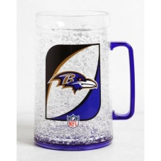 NFL Baltimore Ravens 36-Ounce Crystal Freezer Monster Mug-Intl