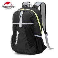 Beli Nh Outdoor Sport Travel Mountaineer Hiking Climbing Portable Ultralight Folding Waterproof Tas Ransel 5 Warna Hitam Yang Bagus