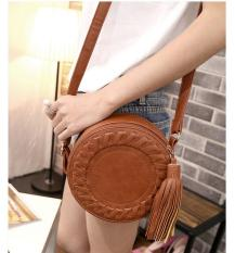 niceEshopSmall Leather Purses Cross Body And Handbags With Shoulder Strap For Women Brown