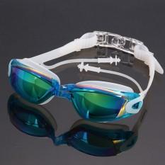 Niceeshop Upgrade Profesional Anti Fog Swimming Goggles Coating Swim Glasses Pria Wanita Dewasa Goggles Olahraga Berenang Kacamata-Intl By Nicee Shop.