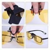 Night View Clip Ons As Seen On Tv Kacamata Jepit Anti Silau Lensa Jepit Anti Silau Lensa Kuning Anti Silau Kacamata Anti Silau Lensa Kacamata Berkendara Lensa Kacamata Menyetir Malam Hari Super Best Seller Terbaru
