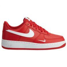 Spesifikasi Nike Air Force 1 Sneakers Olahraga Pria University White Black Merk Nike