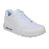 Jual Beli Nike Air Max 1 Ultra 2 Essential Sneakers Olahraga Pria White White Pure Platin Jawa Barat