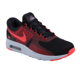 Review Nike Air Max Zero Essential Sepatu Lari Black Bright Crimson Gy Terbaru