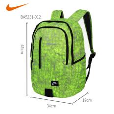 Nike ba5274 luar ruangan asli untuk pria dan wanita mahasiswa ransel komputer bahu tas sekolah