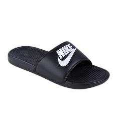 Jual Cepat Nike Benassi Jdi Sandal Olahraga Pria Black White