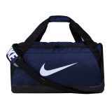 Jual Nike Brasillia Medium Duffle Bag Tas Olahraga Midnight Navy Black White Original