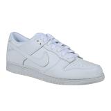Toko Nike Dunk Low Sneakers Olahraga Pria White White White Online Terpercaya