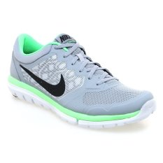 Jual Nike Flex 2015 Rn Msl Sepatu Lari Pria Abu Abu Hijau Import