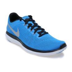Katalog Nike Flex 2016 Running Sepatu Lari Pria Photo Blue Metallic Silver Black White Nike Terbaru